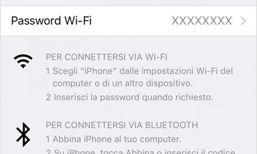 Come Trasformare un Iphone in un Router wifi