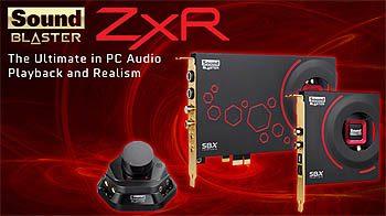 Recensione Sound Blaster ZXR