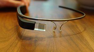 Come è fatto il display dei Google Glass